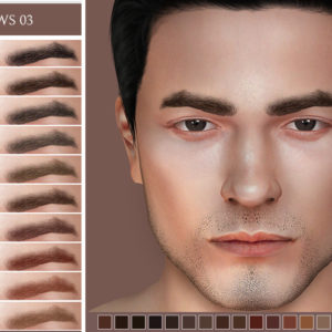 sims 4 eyebrows for male