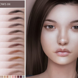 sims 4 eyebrows for female