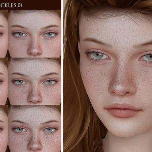 sims 4 freckles cc